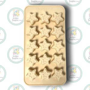 Molde de Estrellas de silicon para Chocolate