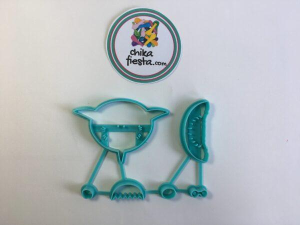 """Marcador Cortador """"baby shark"""""""