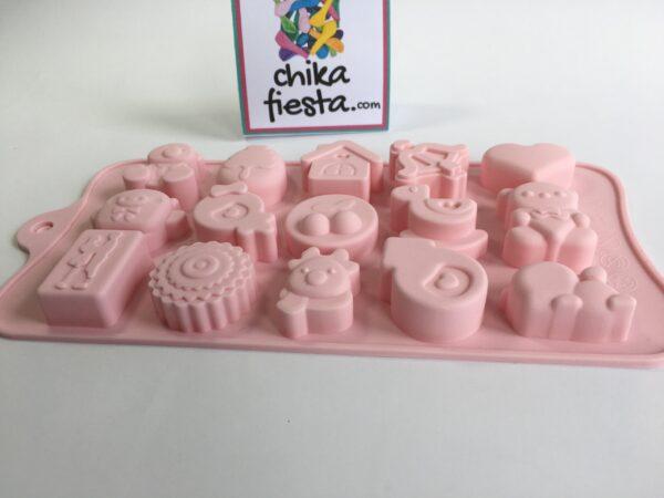 Molde de Silicon para Chocolates de San Valentín