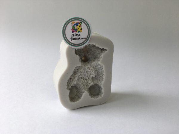 molde de silicon oso de peluche