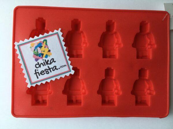 Molde de Silicon Muñecos de Lego